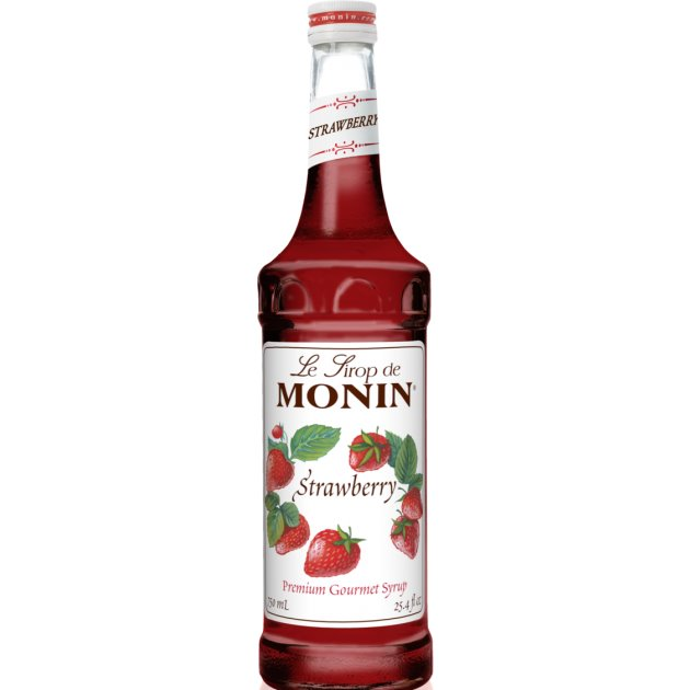 Utica Coffee Roasters Monin Strawberry Syrup 750ml thumbnail