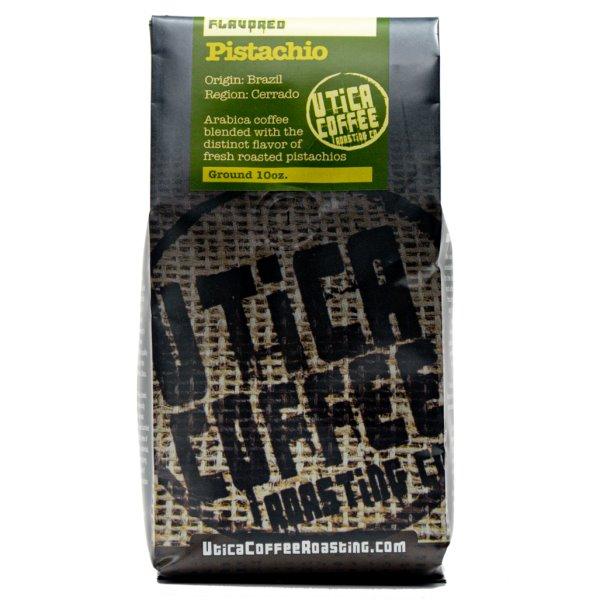 Utica Coffee Roasters Pistachio Ground 10oz thumbnail