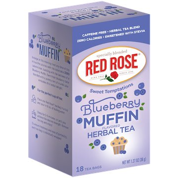 Utica Coffee Roasters Tea Red Rose Blueberry Muffin 18ct thumbnail