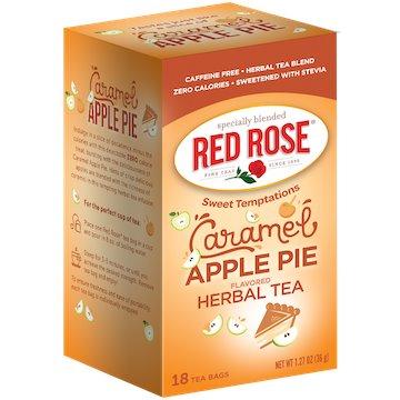Utica Coffee Roasters Tea Red Rose Caramel Apple 18ct thumbnail