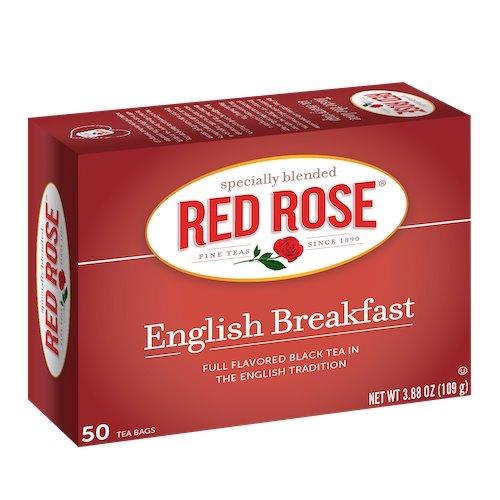 Utica Coffee Roasters Tea Red Rose English Breakfast 50ct thumbnail