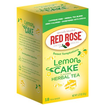 Utica Coffee Roasters Tea Red Rose Lemon Cake 18ct thumbnail
