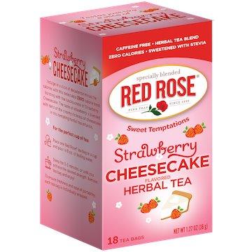 Utica Coffee Roasters Tea Red Rose Straw Cheesecake 18ct thumbnail