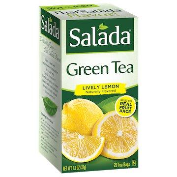 Utica Coffee Roasters Tea Salada Green Lemon 20ct thumbnail