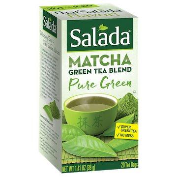 Utica Coffee Roasters Tea Salada Matcha Green 20ct thumbnail