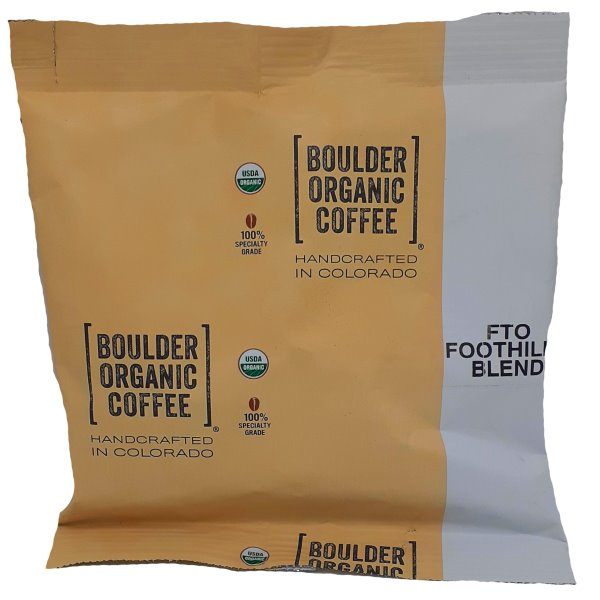 Boulder Organic Coffee Foothills Blend Ground 2.5oz thumbnail