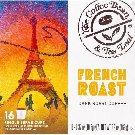 K-Cup Coffee Bean & Tea Leaf Coffee French Roast 16ct thumbnail