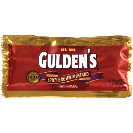 Guldens Spicy Mustard Packet 500ct thumbnail