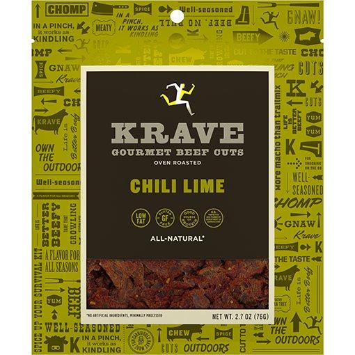 Krave Jerky Chili Lime 2.7oz thumbnail