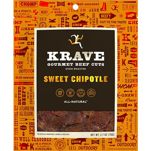 Krave Jerky Sweet Chipotle 2.7oz thumbnail