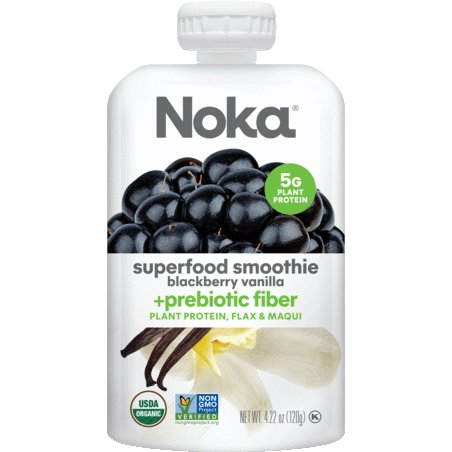 Noka Smoothie Blackberry Vanilla 4.22oz thumbnail