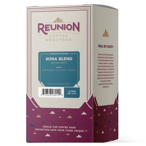 Reunion Island Kona Blend Pods 16ct thumbnail
