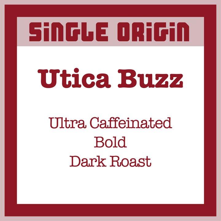 Utica Coffee Roasters Utica Buzz 7.5oz thumbnail