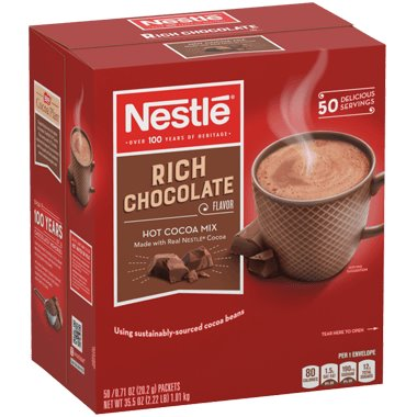 Nestle Rich Chocolate Hot Cocoa Mix thumbnail