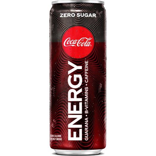 Coke Energy Zero Sugar 12oz thumbnail