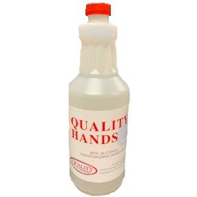 Quality Hands Gel Quart 32oz thumbnail