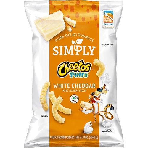 Simply Cheetos White Cheddar Puffs thumbnail