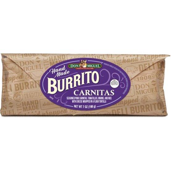 Don Miguel Carnitas Burrito thumbnail