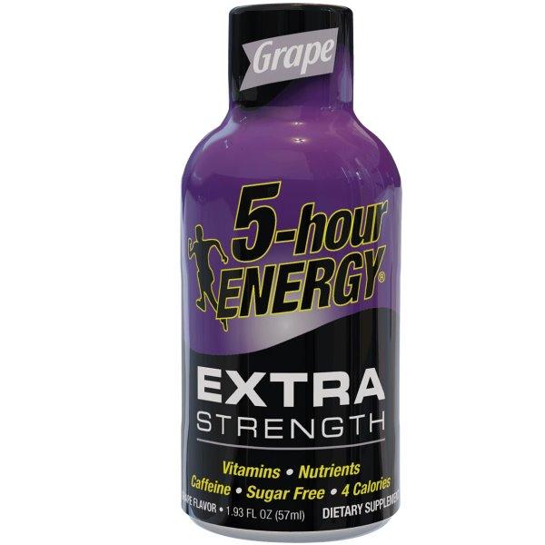 5 Hour Energy Extra Strength Grape 1.93oz thumbnail