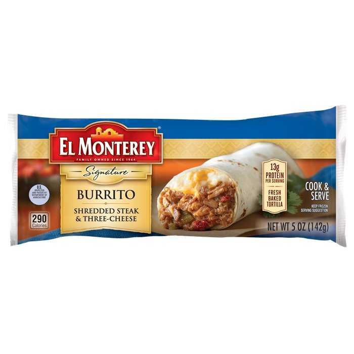 El Monterey Steak Cheese Burrito thumbnail
