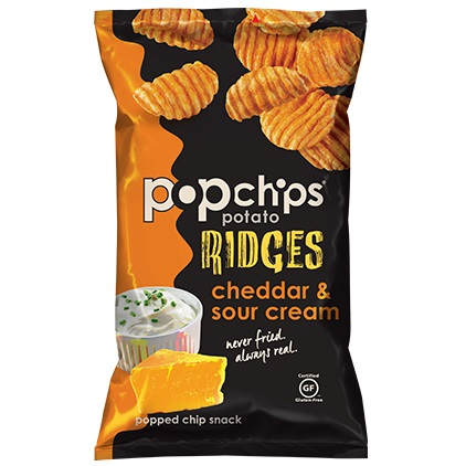LCP Popchip Cheddar Sour Cream Ridges thumbnail