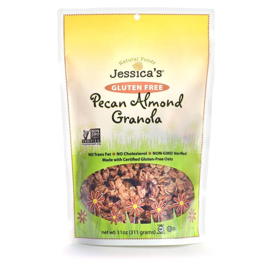 Jessica's Gluten-Free Pecan Almond Granola 11oz thumbnail