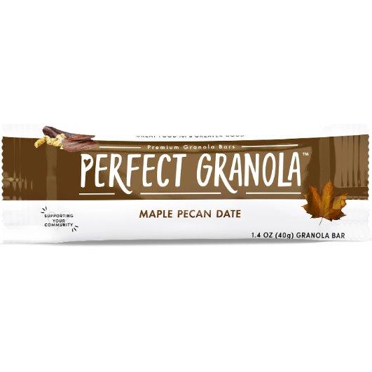 Perfect Granola Maple Pecan Date Bars thumbnail