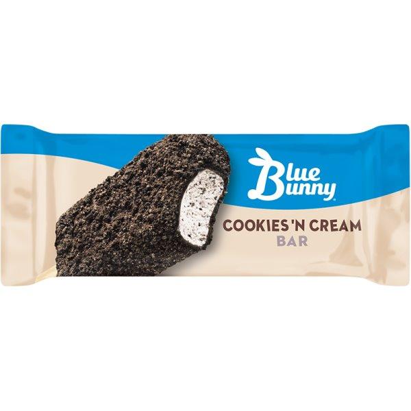 Blue Bunny Cookies & Cream Bar thumbnail