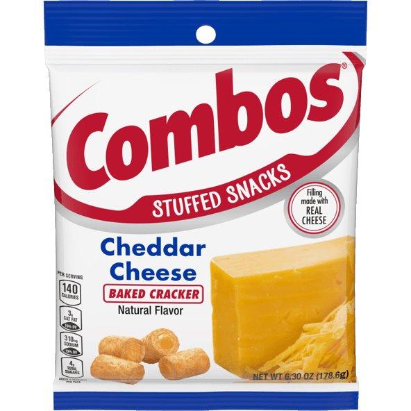 Combos Cheddar Cheese Cracker 6.3oz thumbnail