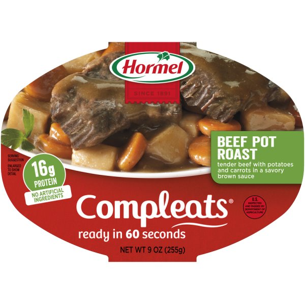 Hormel Compleats Pot Roast thumbnail