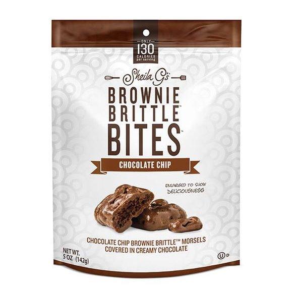 Shelia G's Brownie Brittle Bites Chocolate Chip thumbnail