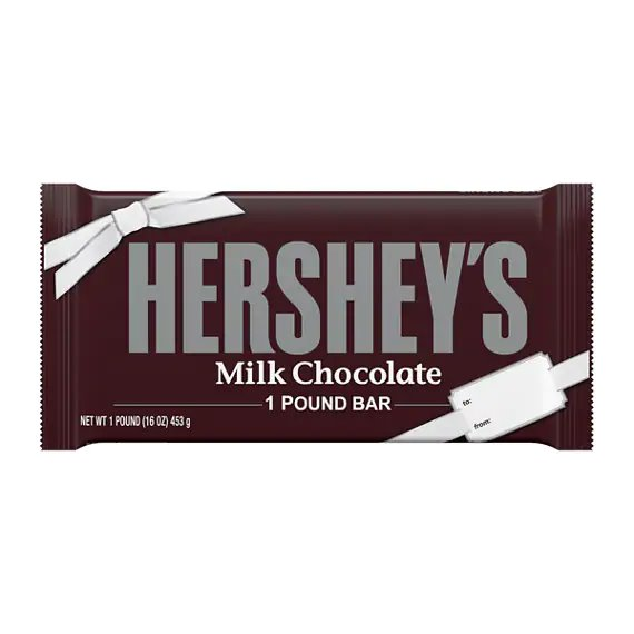 Hershey's Chocolate Bars 1lb thumbnail