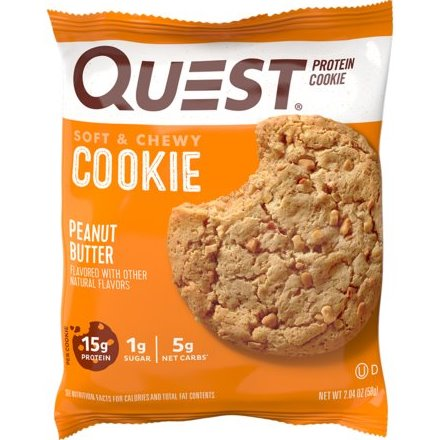 Quest Peanut Butter Protein Cookie thumbnail