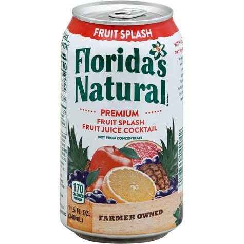 Florida Natural Fruit Splash 11.5oz thumbnail