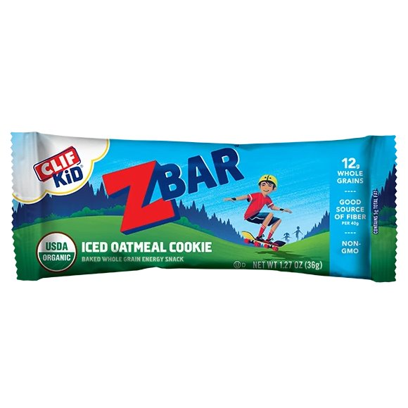 Clif Z Bar OG2 Iced Oatmeal Cookie thumbnail