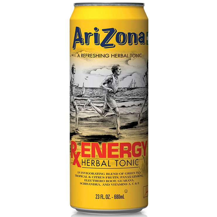 Arizona Rx Energy Herbal 23oz thumbnail