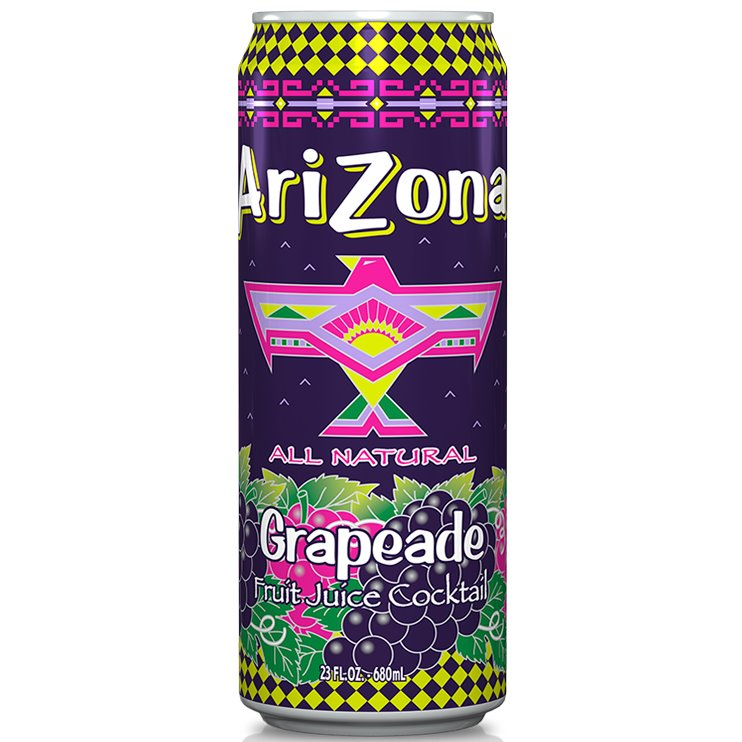 Arizona Grapeade 24oz thumbnail