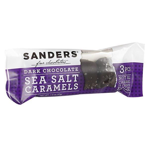 Sanders Caramel Dark Chocolate Sea Salt 3pk thumbnail