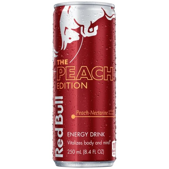 Red Bull Peach 12oz thumbnail