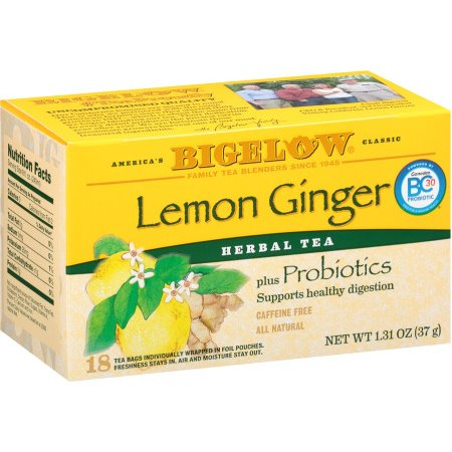 Bigelow Lemon Ginger Tea thumbnail
