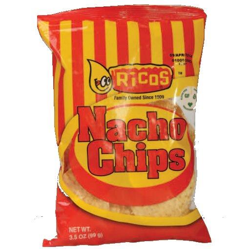 Ricos Nacho Chips 3.5oz thumbnail