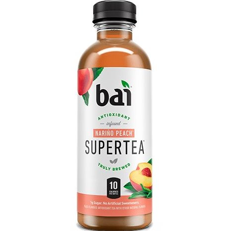 Bai Narino Peach Super Tea 18oz thumbnail