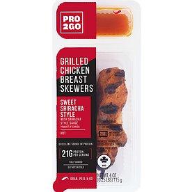 Pro2Go Sweet Sriracha Chicken Skewers 4oz thumbnail