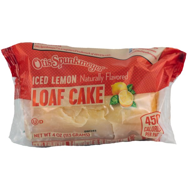 Otis Spunkmeyer Lemon Loaf 4oz thumbnail