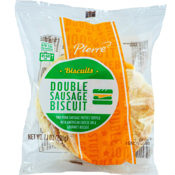 Pierre Double Sausage Biscuit thumbnail