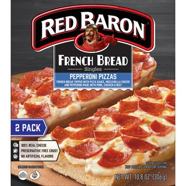 Red Baron French Bread Pepperoni Pizza thumbnail