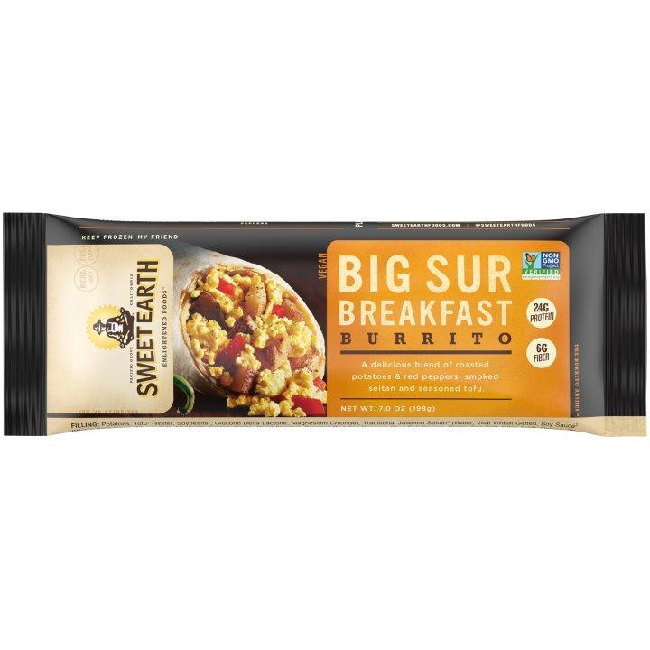 Sweet Earth Big Sur Breakfast Burrito thumbnail