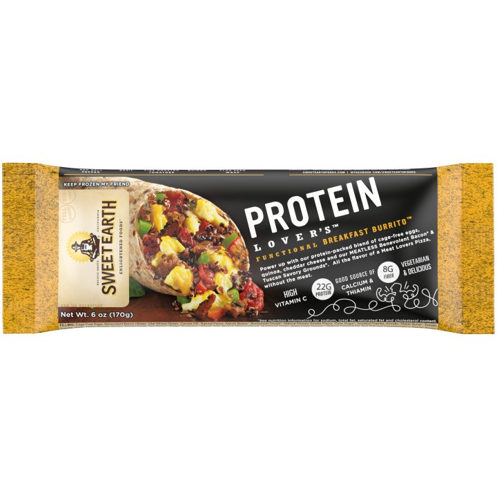 Sweet Earth Protein Lovers Burrito thumbnail