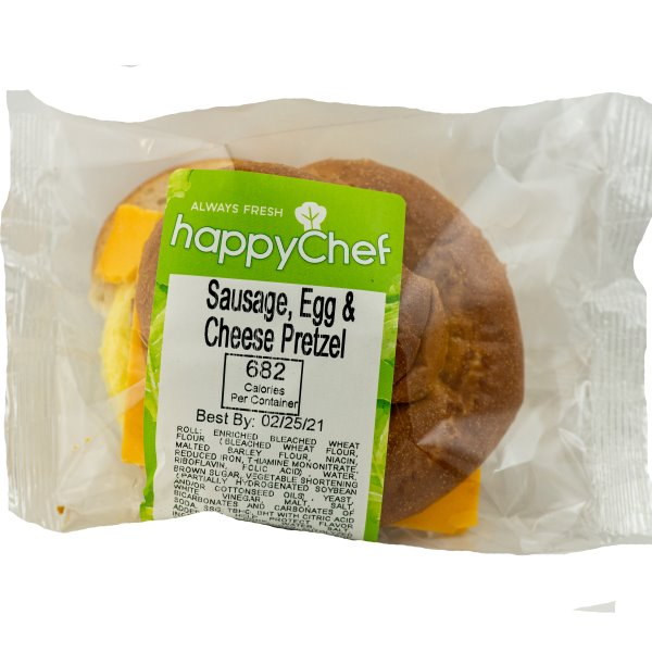 Queen City Sausage Egg & Cheese on Pretzel Roll thumbnail