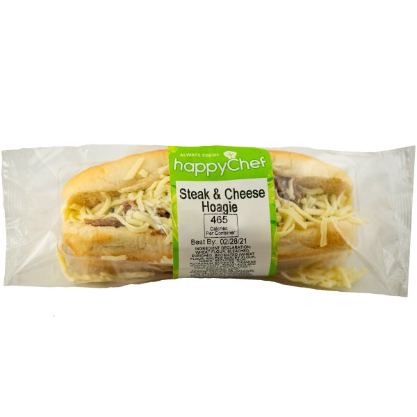 """Queen City Steak & Cheese w/ Peppers & Onions on 7"""" Hoagie thumbnail"""